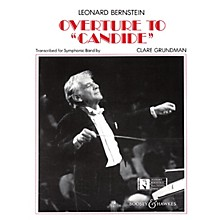Leonard Bernstein Music Overture to Candide Concert Band Arranged by Clare Grundman