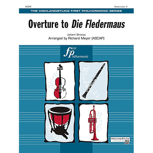 Alfred Overture to Die Fledermaus String Orchestra Grade 2 Set-thumbnail