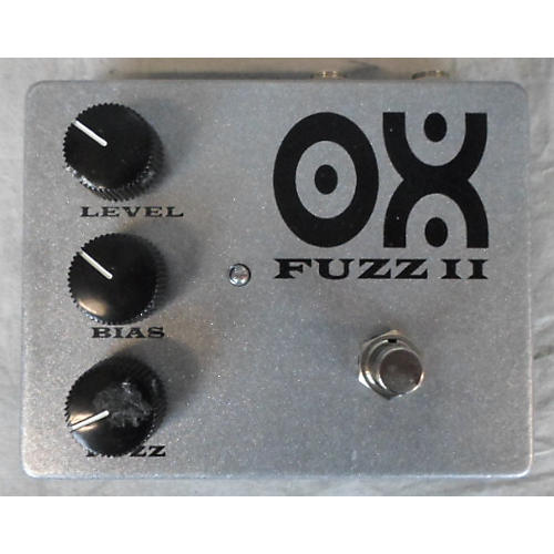 In Store Used Ox Fuzz II Effect Pedal-thumbnail