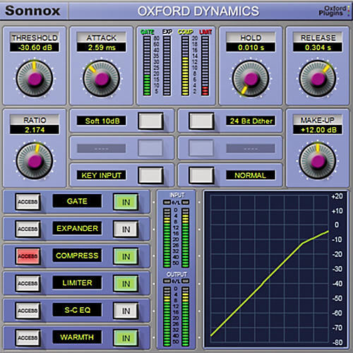 Sonnox Oxford Dynamics (HD-HDX) Software Download