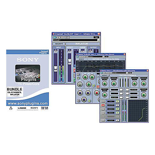 Sony Oxford Plug-ins Trio-A Bundle for TC PowerCore