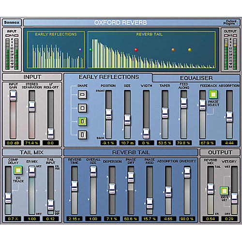 Sonnox Oxford Reverb HD / TDM Plug-In