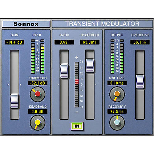 Sonnox Oxford TransMod (Native) Software Download