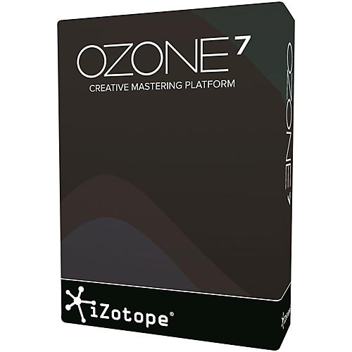 iZotope Ozone 7 Software Download