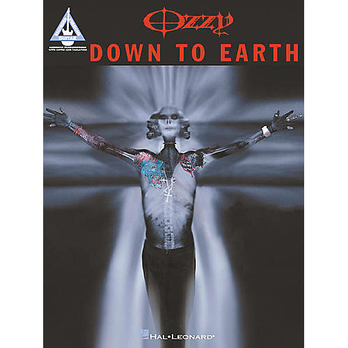 Hal Leonard Ozzy Osbourne - Down to Earth Guitar Tab Book
