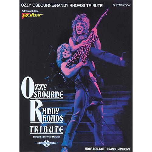Hal Leonard Ozzy Osbourne / Randy Rhoads Tribute Guitar Tab Songbook-thumbnail