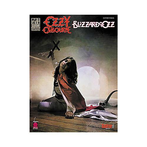Hal Leonard Ozzy Osbourne Blizzard of Ozz Guitar Tab Book-thumbnail