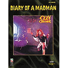 Hal Leonard Ozzy Osbourne Diary of a Madman Guitar Tab Songbook