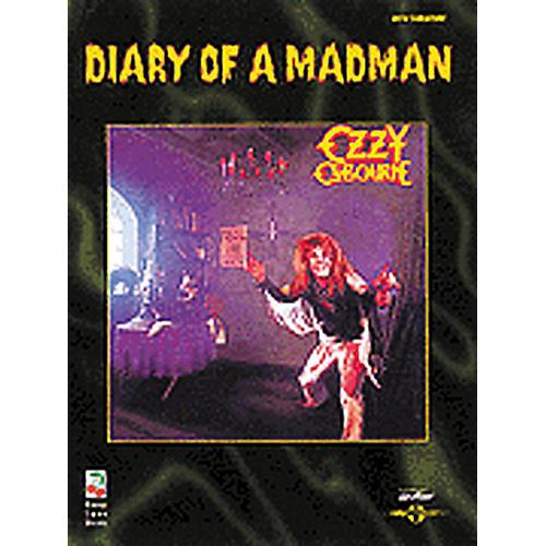 Hal Leonard Ozzy Osbourne Diary of a Madman Guitar Tab Songbook-thumbnail