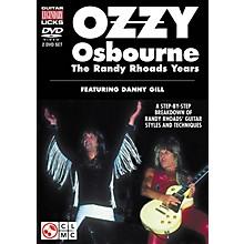 Cherry Lane Ozzy Osbourne: The Randy Rhoads Years - Legendary Guitar Licks (2-DVD Set)