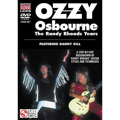 Cherry Lane Ozzy Osbourne: The Randy Rhoads Years - Legendary Guitar Licks (2-DVD Set)-thumbnail