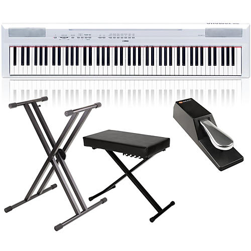 Yamaha P-115 88-Key Weighted Action Digital Piano Packages