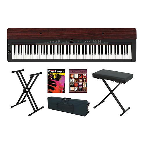 Yamaha P-155 Rosewood Keyboard Package 4