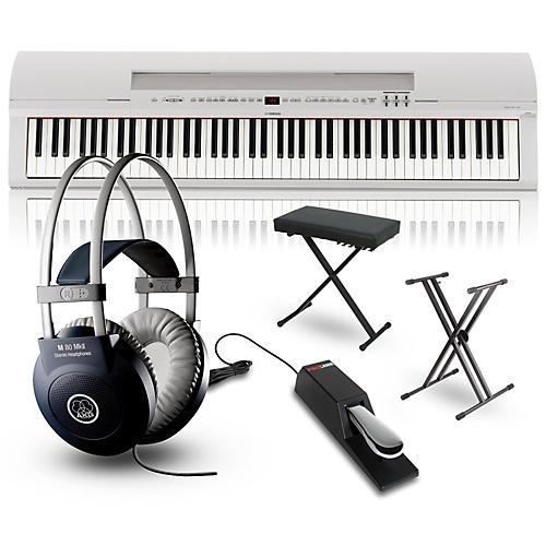 Yamaha P-255 88-Key Digital Piano Packages-thumbnail