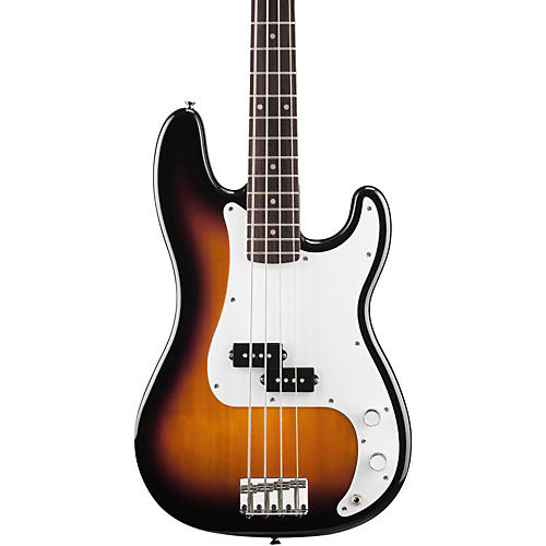 Squier P Bass Electric Guitar Brown Sunburst Rosewood Fretboard
