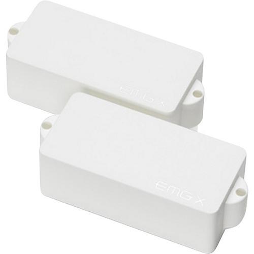 EMG P-X Active Bass Pickup Set White