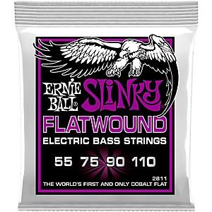 Click here to buy Ernie Ball P02811 Power Slinky Flatwound Bass Strings by Ernie Ball.