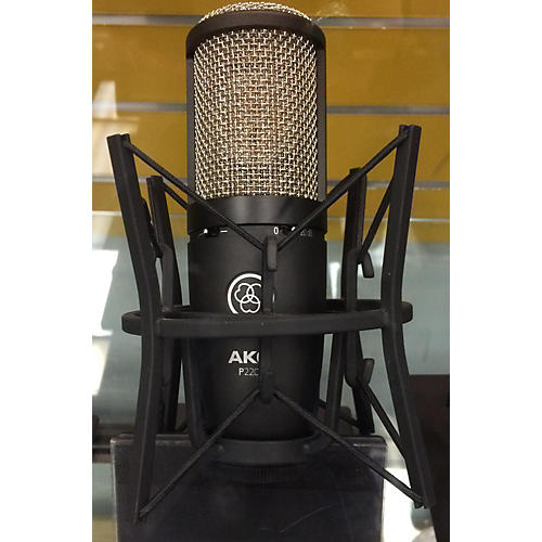 AKG P220 Project Studio Black Condenser Microphone-thumbnail