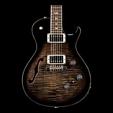 PRS P245 Semi-Hollow Electric Guitar Charcoal Burst