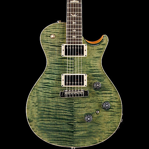 PRS P245 with Piezo Carved Figured Maple Top Bird Inlay Faded Blue Jean-thumbnail