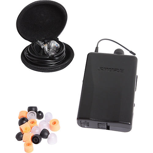 Shure P2RE2-H2 PSM 200 Wired In-Ear Personal Monitor System-thumbnail