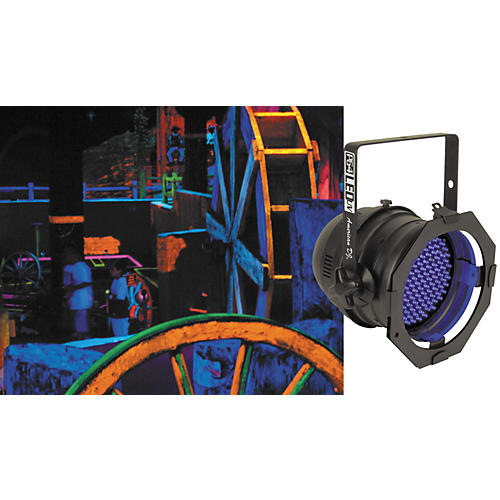 American DJ P64 LED UV LED Blacklight PAR Can-thumbnail