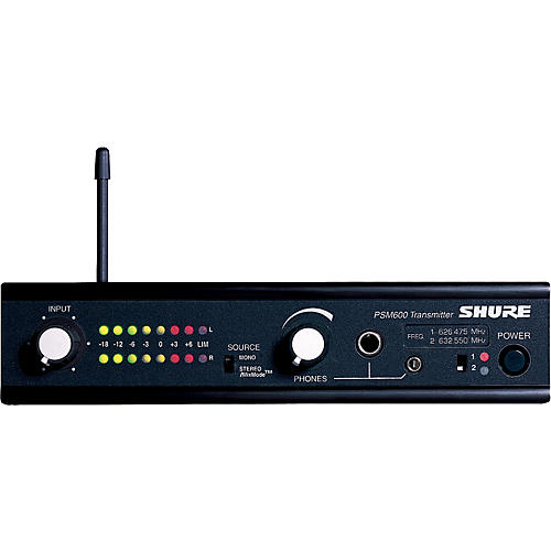 Shure P6T Wireless Transmitter for PSM 600 Systems