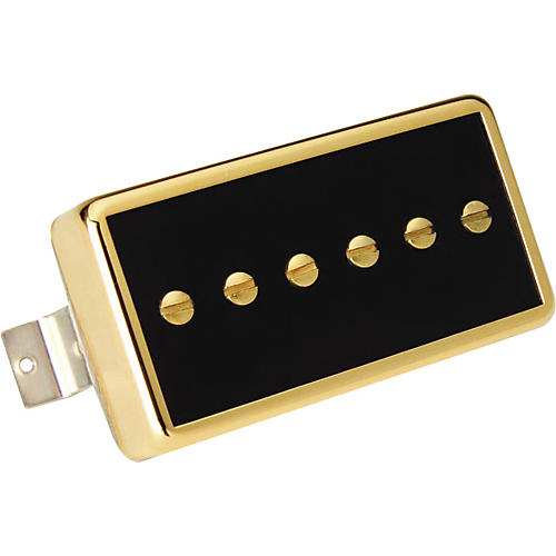 Gibson P94R Neck Pickup Black Gold Cover