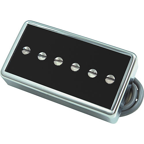 Gibson P94T Humbucker Sized P90 Bridge Pickup Black Chrome Cover