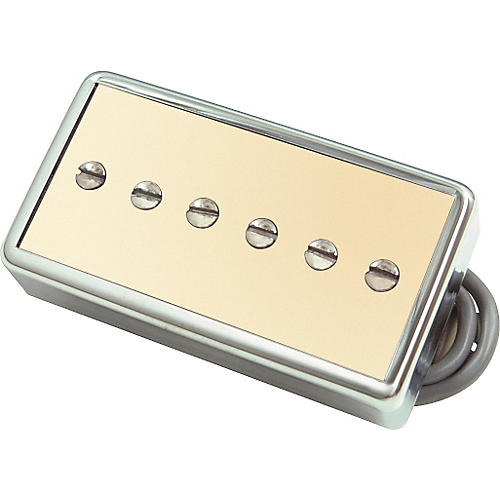 Gibson P94T Humbucker Sized P90 Bridge Pickup Cream Gold Cover