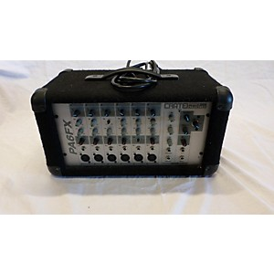 Pre-owned Crate PA 6 FX Powered Mixer by Crate