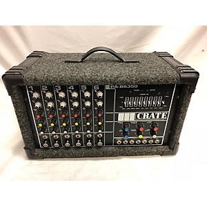 Pre-owned Crate PA-B6350 Powered Mixer by Crate
