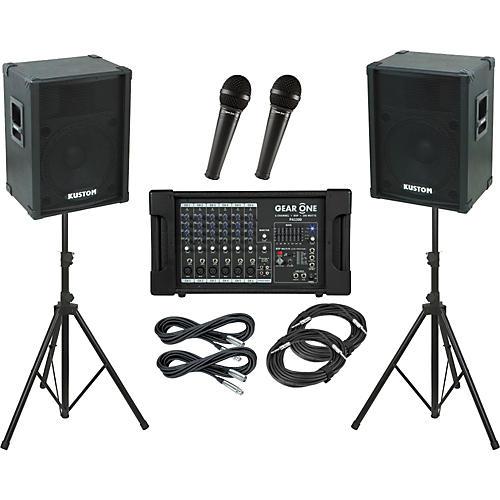 Gear One PA1300 / Kustom KPC15 PA Package