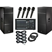 Gear One PA2400 / Electro-Voice ELX215 PA Package