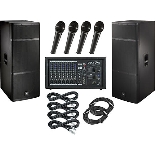 Gear One PA2400 / Electro-Voice ELX215 PA Package-thumbnail