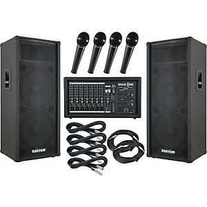 Gear One PA2400 / Kustom KPC215H PA Package by Gear One