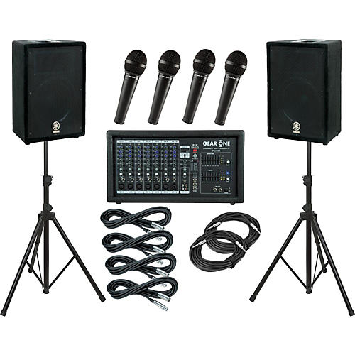 Gear One PA2400 / Yamaha A12 PA Package-thumbnail