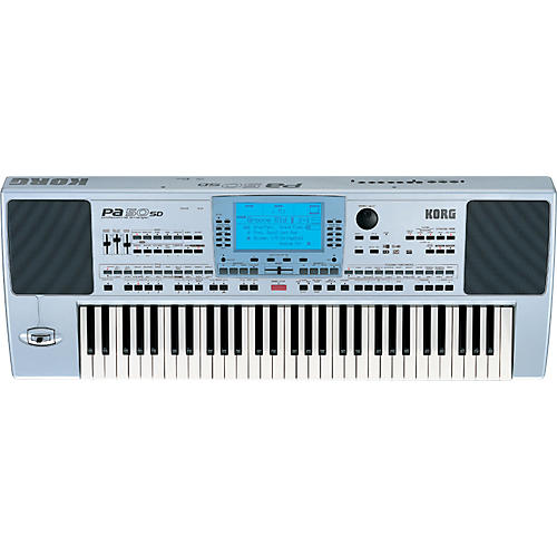 Korg PA50SD 61-Key Professional Arranger with 2-Way Speakers and SD Card-thumbnail