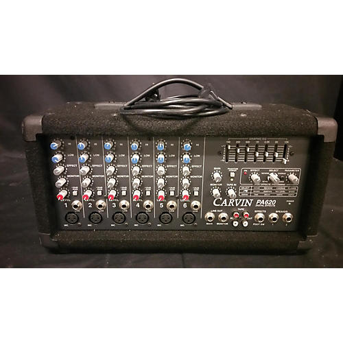 Carvin PA620 Powered Mixer-thumbnail