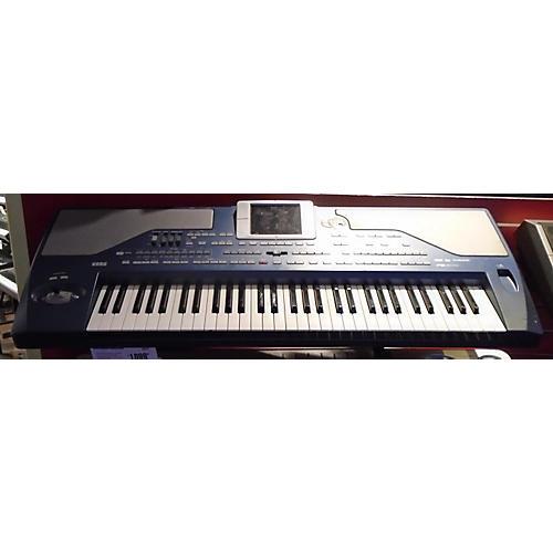 Korg PA800 61 Key Blue Keyboard Workstation-thumbnail