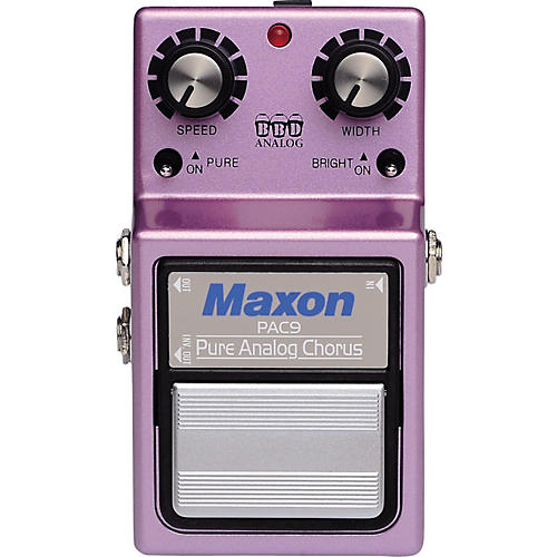 Maxon PAC-9 Pure Analog Chorus Guitar Effects Pedal