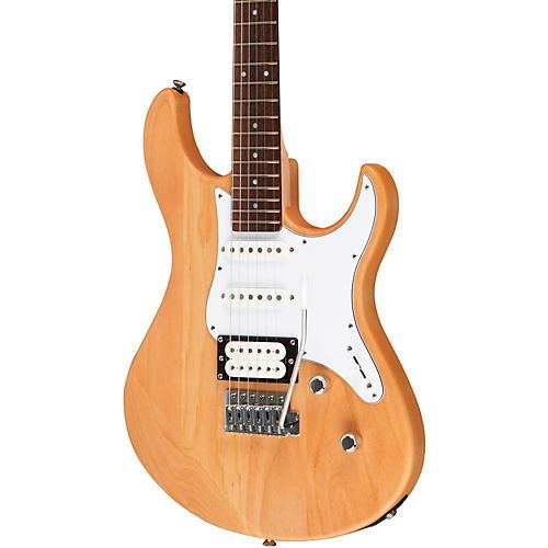 Yamaha PAC112V Electric Guitar Satin Yellow Natural