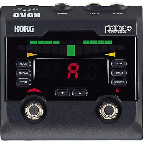 Korg PB-02 Pitchblack+ Pedal Tuner-thumbnail
