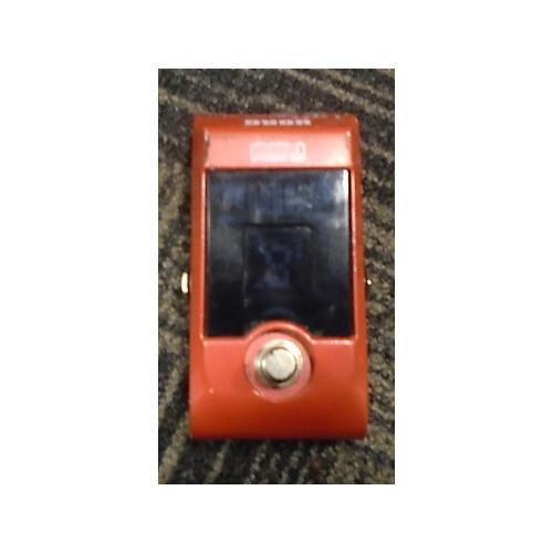 Korg PB01 Pitchblack Chromatic Red Tuner Pedal-thumbnail