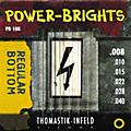 Thomastik PB108 Power-Brights Bottom Extra Light Guitar Strings-thumbnail