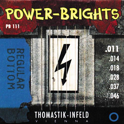Thomastik PB111 Power-Brights Bottom Medium Electric Guitar Strings-thumbnail