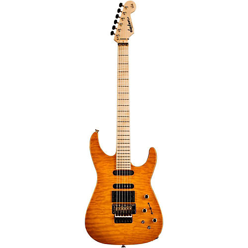 Jackson PC-1 Phil Collen USA Electric Guitar Solar Flame Maple Fingerboard