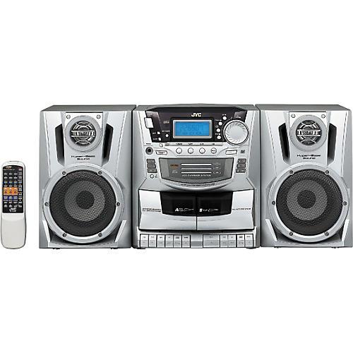 JVC PC-XC370 CD Changer/Cassette Boom Box-thumbnail