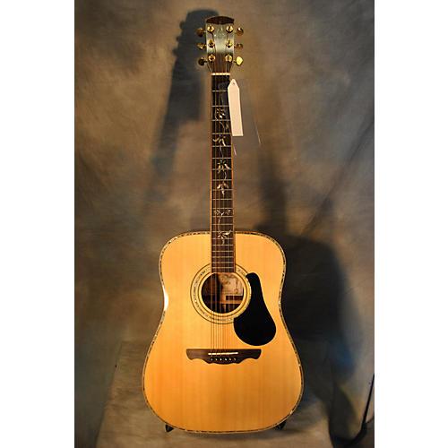Alvarez PD100S Acoustic Electric Guitar-thumbnail