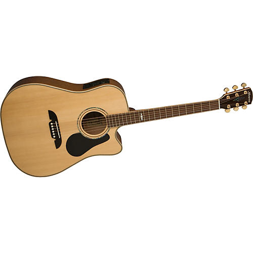 Alvarez PD410C Professional Dreadnought Acoustic-Electric Guitar with System 600 Mk II